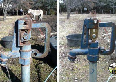 Yard Hydrant Repair