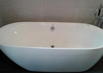 Freestanding Tub and Faucet Installation