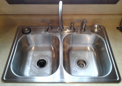 Kitchen Sink and faucet Replacement