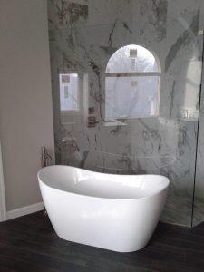 Freestanding Tub and Shower Valve Installation