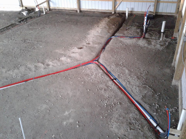 New Construction, Drains and Water Lines